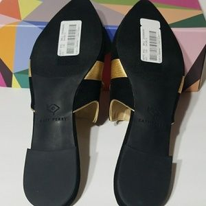 Katy Perry Collections Shoes - Katy Perry black & gold shoe